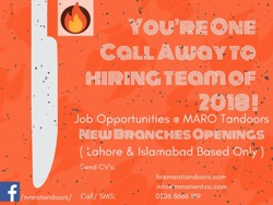 Restaurant Hotel jobs in Lahore Islamabad